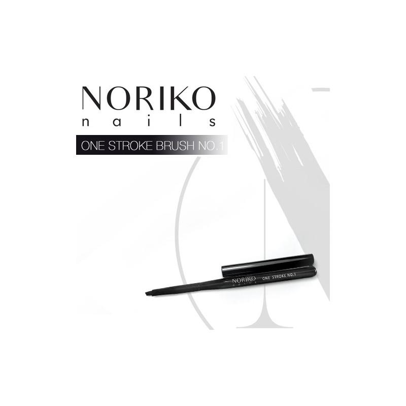 One Stroke Brush No.1 NORIKO NAILS