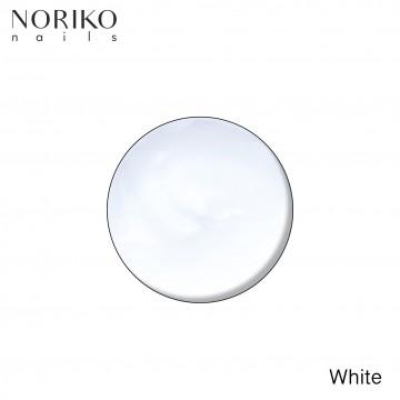 White Paint Gel Noriko Nails