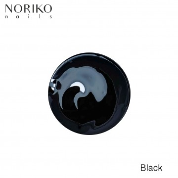 Black Paint Gel Noriko Nails