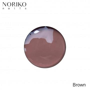 Brown Paint Gel Noriko Nails