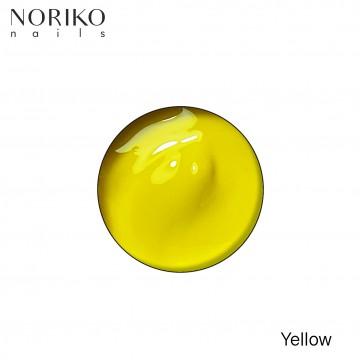Yellow Paint Gel Noriko Nails