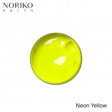 Neon Yellow Paint Gel Noriko Nails