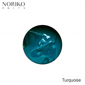 Turquoise Paint Gel Noriko Nails