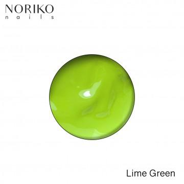 Lime Green Paint Gel Noriko Nails