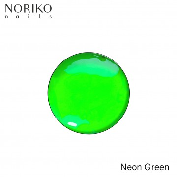 Neon Green Paint Gel Noriko Nails