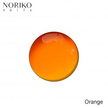 Orange Paint Gel Noriko Nails