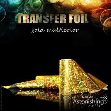 Folia transferowa GOLD MULTIKOLOR 065G3